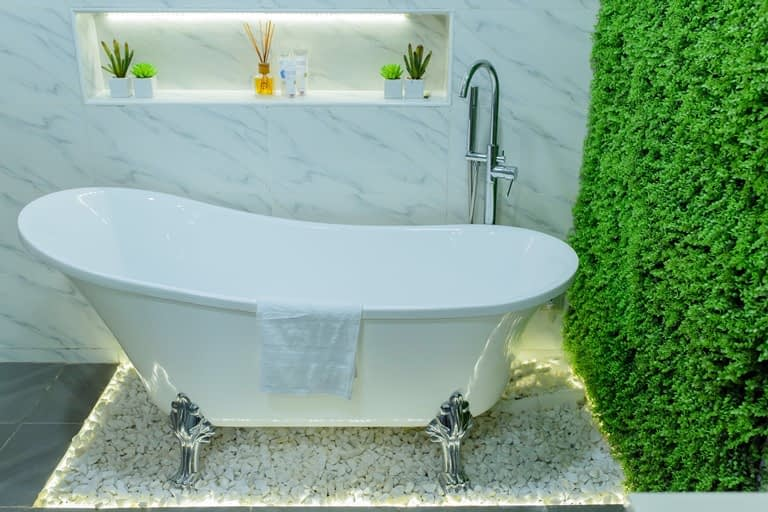 Bathroom renovation in lekki for Haven Homes
